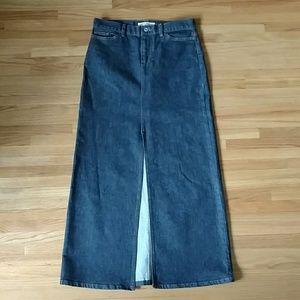 Gap Jeans long denim skirt
